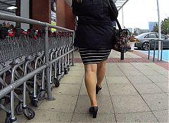 British Milf Walking